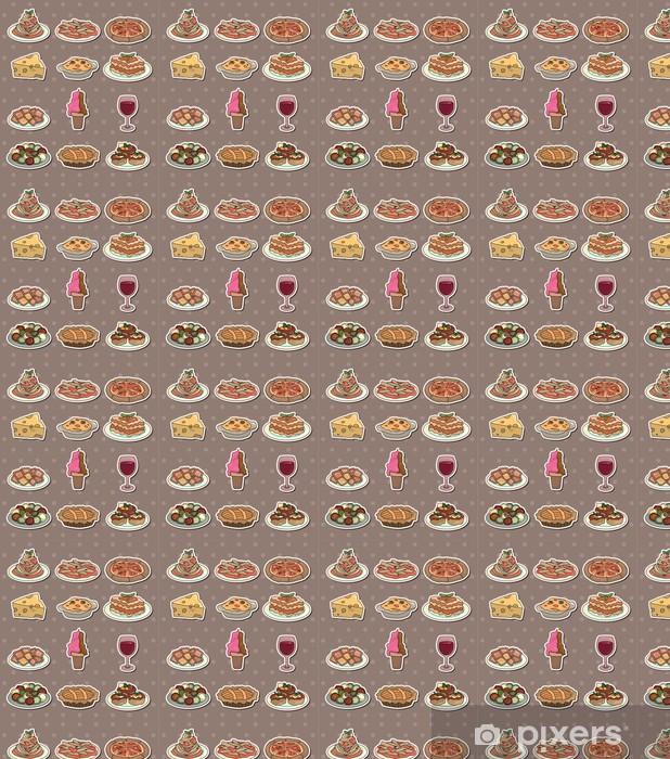 Papier peint vinyle sur mesure Italie alimentaires autocollants - Desserts et friandises