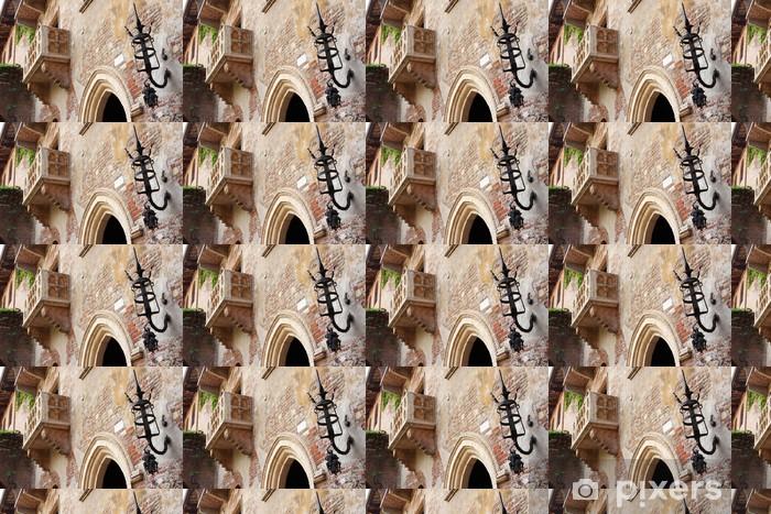 Papier peint vinyle sur mesure Le balcon de Juliette (Vérone, Italie) - Europe