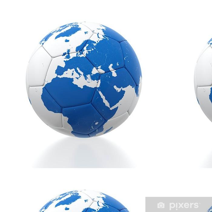 Papier Peint à Motifs Vinyle Ballon football - Articles de sport