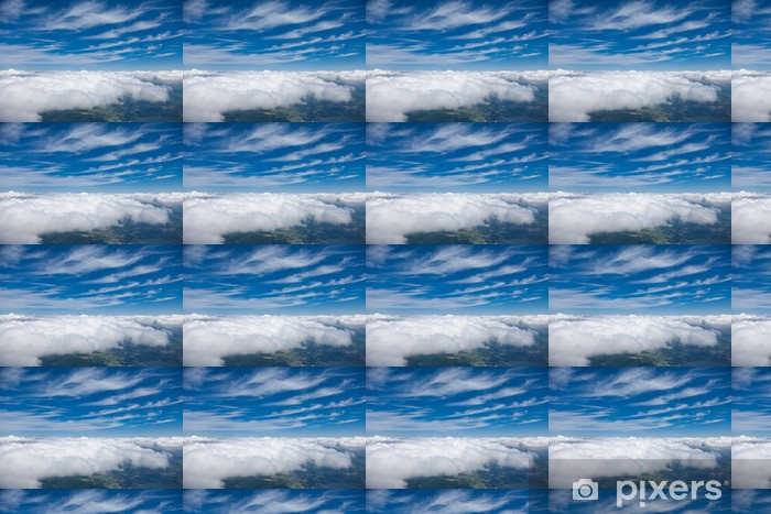 aerial view of comulus clouds Vinyl custom-made wallpaper - Themes