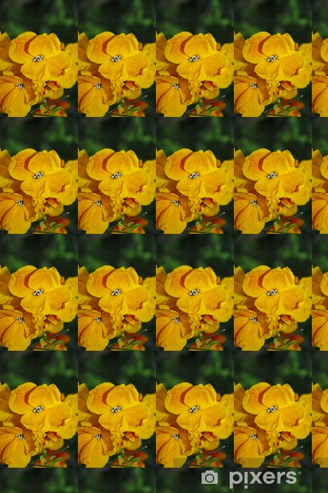 Vinyltapete nach Maß Mauerblümchen - Pflanzen