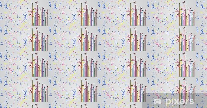 Papier peint vinyle sur mesure Surface de couleur d'art - Autres sentiments