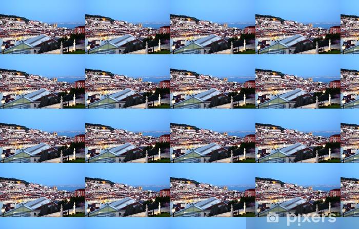 Vinyltapete nach Maß Lissabon - Europäische Städte