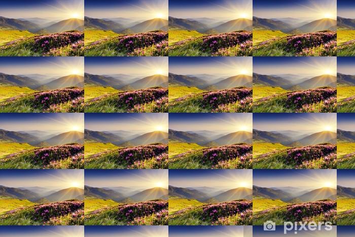 Papier peint vinyle sur mesure Paysage de montagne - Thèmes