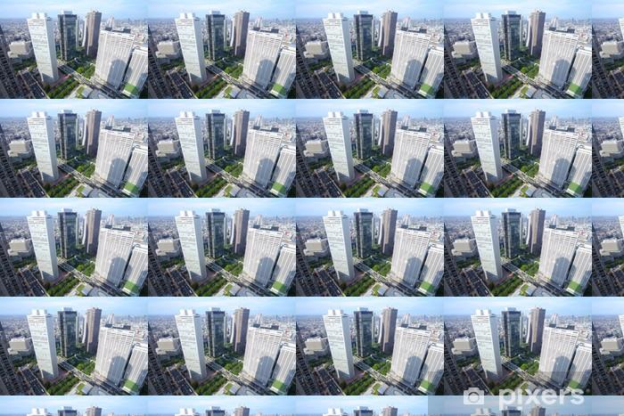 Papier peint vinyle sur mesure Shinjuku, Tokyo - Villes d'Asie