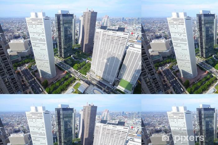 Papier Peint à Motifs Vinyle Shinjuku, Tokyo - Villes d'Asie