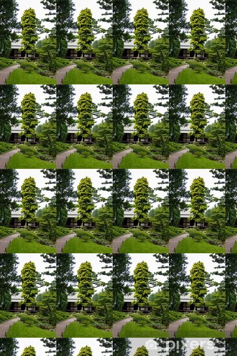 Papier peint vinyle sur mesure Albert Khan - jardin japonais - Villes européennes
