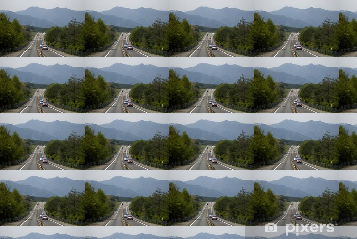 Vinyltapete nach Maß Road to Mt. Fuji, Hakone-Nationalpark, Japan - Asien