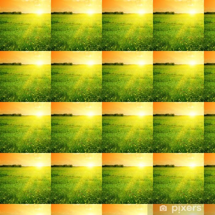 Vinylová tapeta na míru Krásný západ slunce - Témata