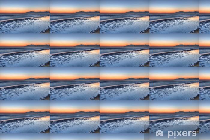 Papier peint vinyle sur mesure COSTA DEL SOL beau coucher de soleil 2 - Eau