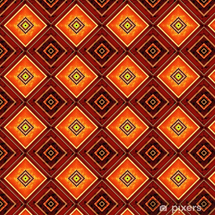 Tapeta na wymiar winylowa Jednolite wzór rombowy - Tła