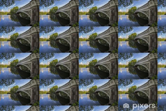 Tapeta na wymiar winylowa Central Park Bow bridge - Miasta amerykańskie