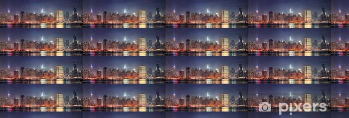 Vinyltapete nach Maß New York City Manhattan-Panorama - Themen