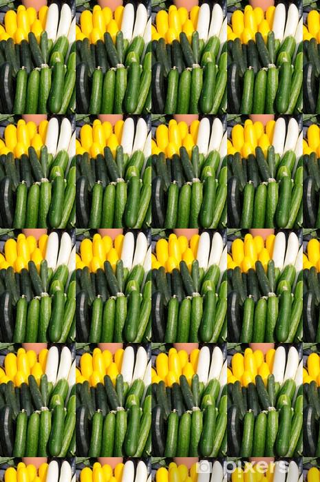 Vinyltapete nach Maß Gurke und Zucchini - Themen