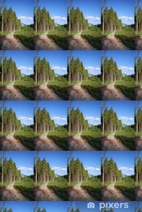 Vinylová tapeta na míru Wald-Landschaft (Schweden) - Evropa