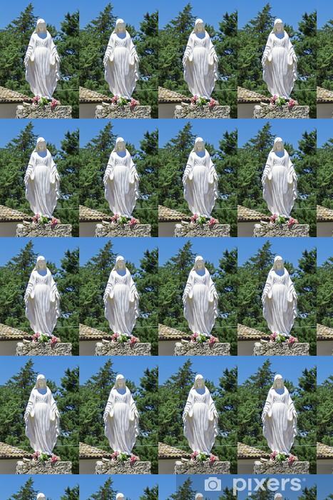Vinyltapete nach Maß Statue der Jungfrau Maria - Religion