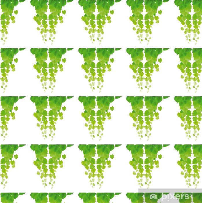Tapeta na wymiar winylowa Świeże liście - Rośliny