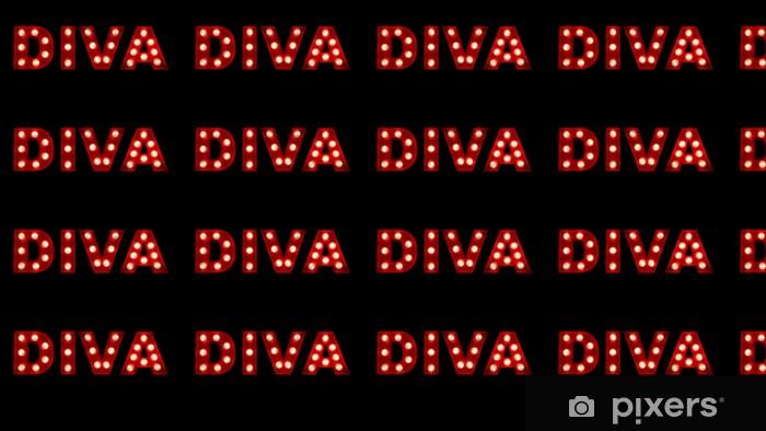 Papier peint vinyle sur mesure Diva - Signes et symboles
