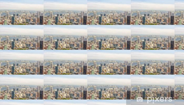 Papier peint vinyle sur mesure Vue de Tokyo Tour de Tokyo - Villes d'Asie