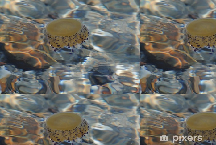 Vinyltapete Medusas - Unterwasserwelt