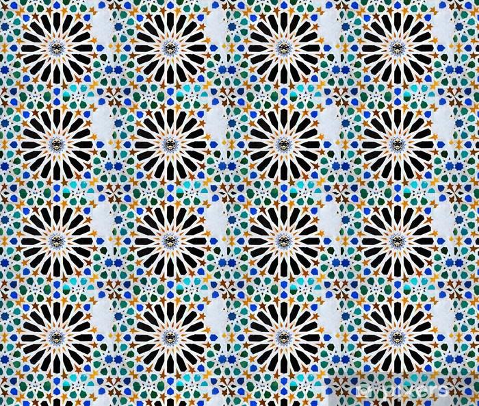Vinylová tapeta na míru Alicatados, mozaiky, dlaždice, Alhambra v Granadě - Evropa