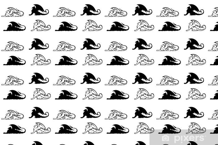 Tapeta na wymiar winylowa Heraldyczne gryfy - Fikcyjne zwierzęta