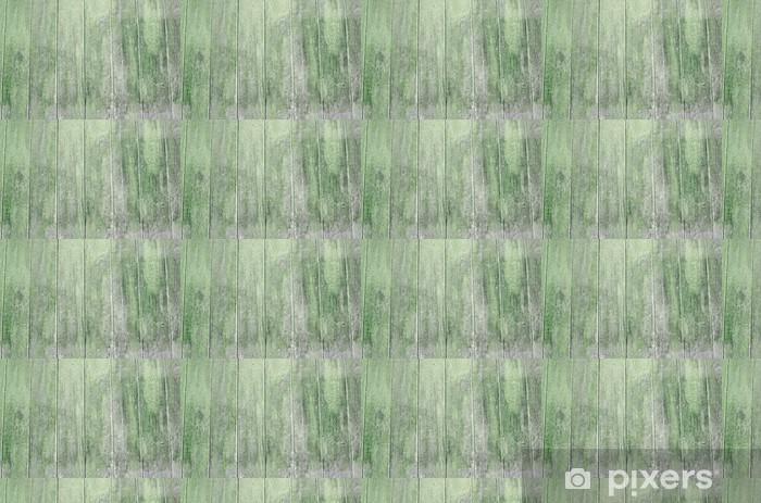 Vinylová tapeta na míru Holzwand grün, verwittert - Struktury