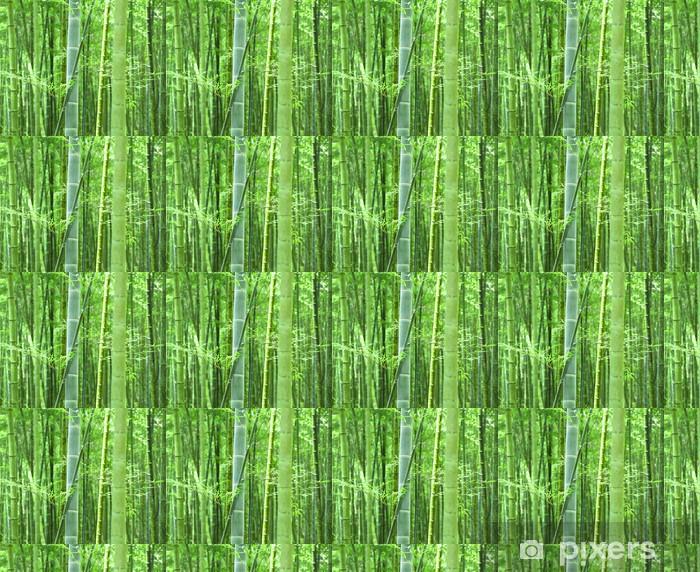 Tapeta na wymiar winylowa Zielony las bambusowy - Tematy