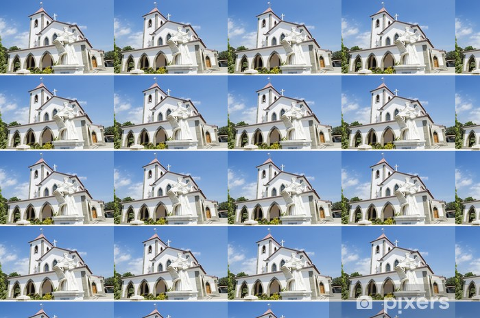 Vinylová tapeta na míru Kostel v Dili Východní Timor - Asie