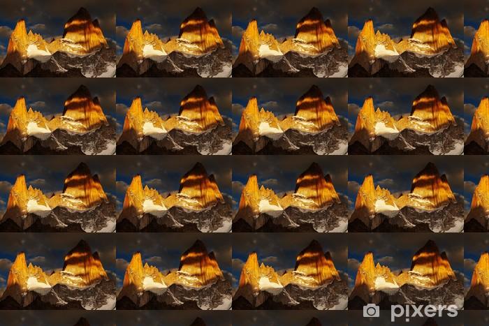 Papier peint vinyle sur mesure Mont Fitz Roy, Patagonie, Argentine - Amérique