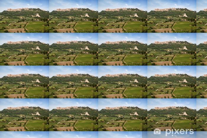 Papier peint vinyle sur mesure Village Montepulciano - Europe
