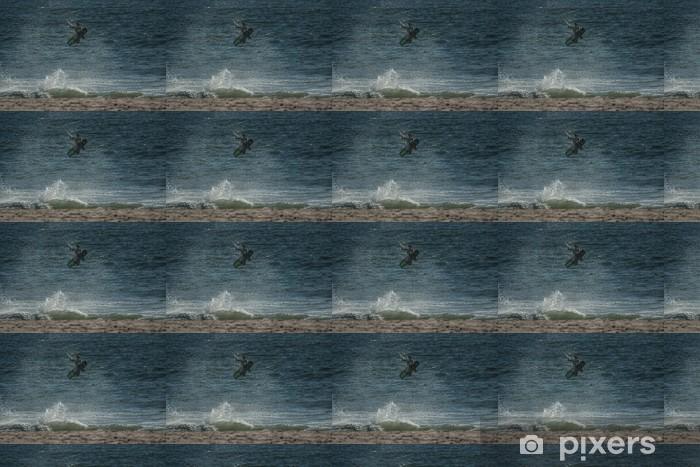 Tapeta na wymiar winylowa Kitesurfingu jump - Sporty wodne