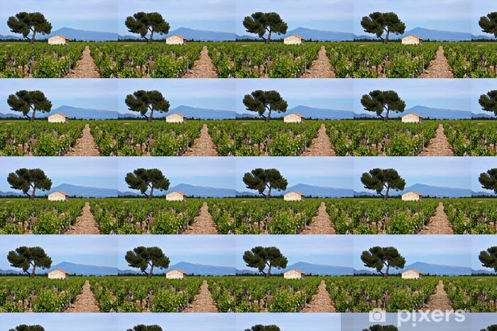 Papier peint vinyle sur mesure Vignobles de Provence - Europe