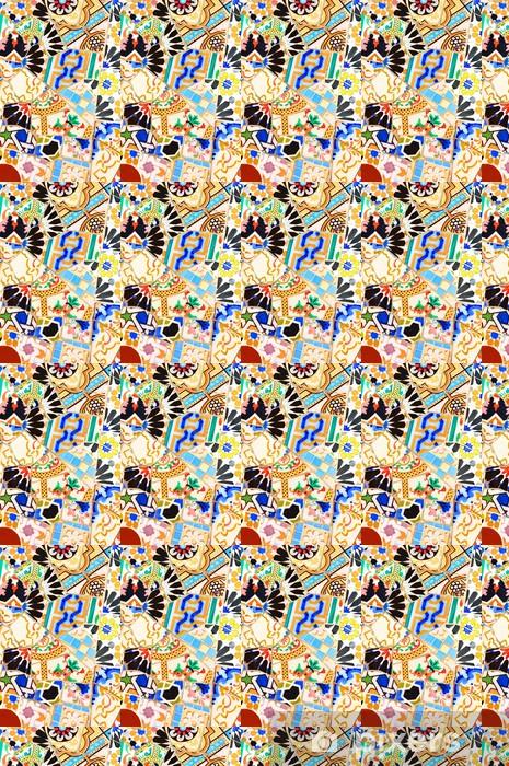 Vinyltapete nach Maß Mosaik - Hintergründe