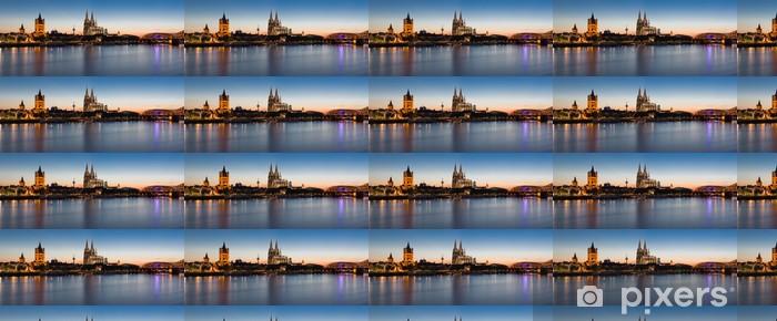 Papier peint à motifs vinyle Cologne Skyline - iStaging