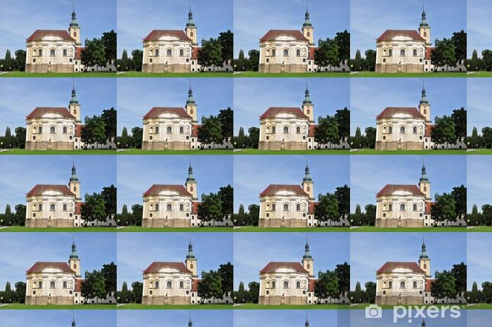 Vinylová tapeta na míru Kostel hradu Smiřicích - Prázdniny