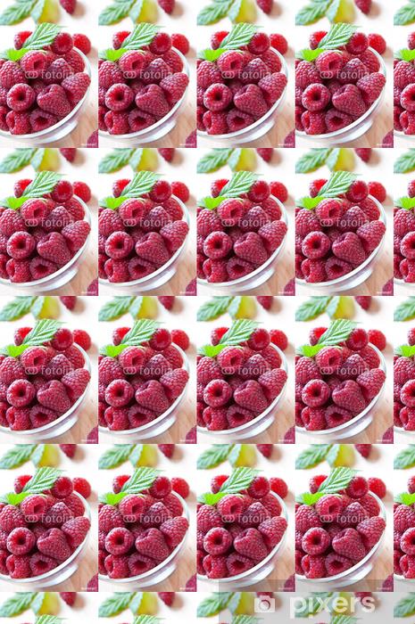 Tapeta na wymiar winylowa Maliny - Owoce