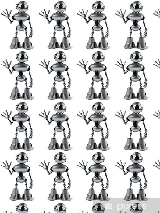 Vinyl behang, op maat gemaakt Robot - Tekens en Symbolen