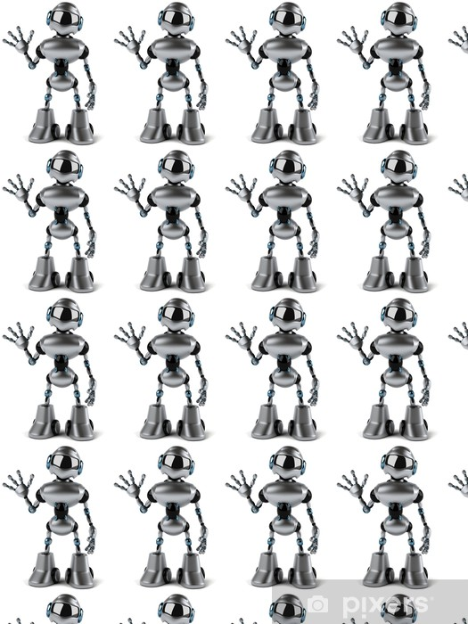 Papel pintado estándar a medida Robot - Señales y símbolos