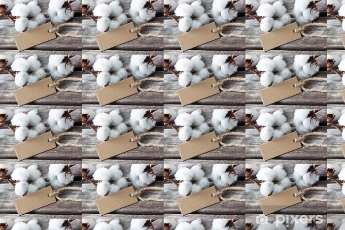 Baumwolle - Cotton Vinyl custom-made wallpaper - Raw Materials