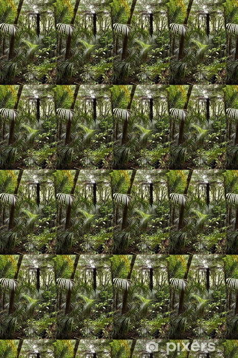 Tropical Forest Jungle Wallpaper Vinyl Custom Made