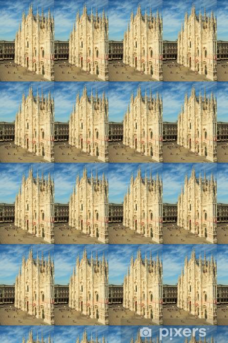 Tapeta na wymiar winylowa Katedra w Mediolanie, Katedra w Mediolanie - Europa