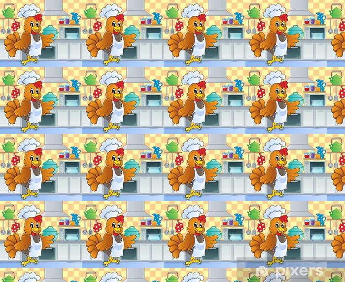 Tapeta na wymiar winylowa Obraz motyw kuchnia 4 - Ptaki