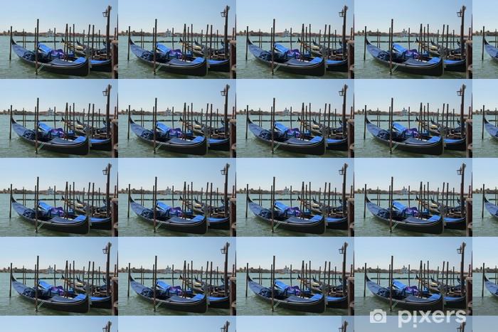 Vinyl behang, op maat gemaakt Gondeln ben Giudecca Canal - Europese steden