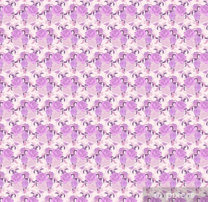 floral vintage seamless pattern Vinyl custom-made wallpaper - Backgrounds
