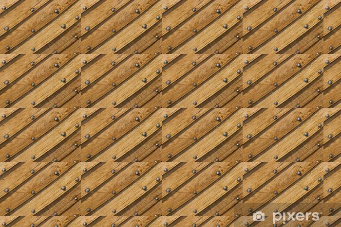 Papier peint vinyle sur mesure Bois coque - Europe