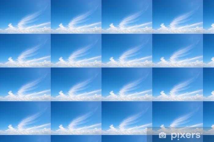 Papier peint vinyle sur mesure Nuage en forme d'aile dans le ciel bleu - Ciel