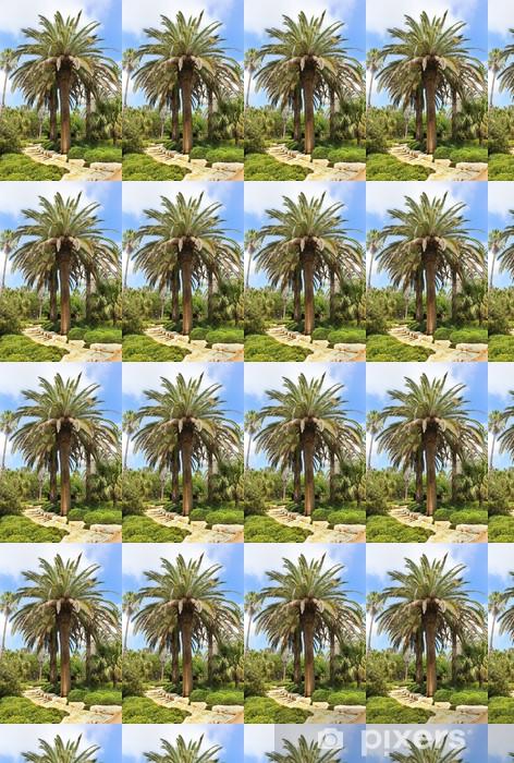 Papier peint vinyle sur mesure Palmeraie dans le parc de Ramat Hanadiv, Israël - Moyen Orient