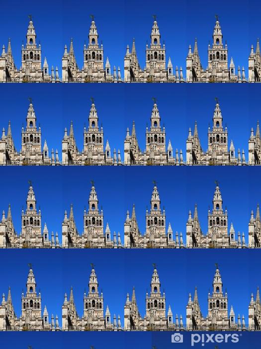 Papier peint vinyle sur mesure Tour de la Giralda, Séville © Arena photo Royaume-Uni - Europe