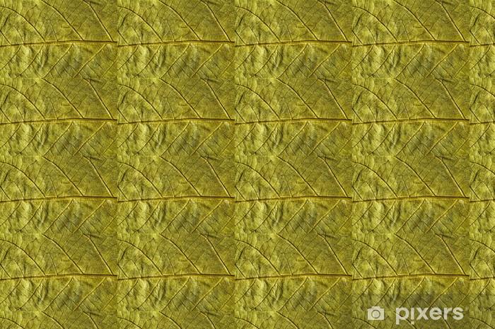 Vinylová tapeta na míru Zlaté podzimní listí - Rostliny